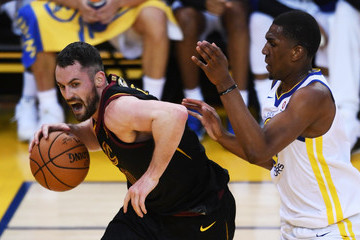 Kevon Looney 2018 NBA Finals - Game One