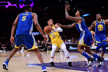 Kevon Looney Golden State Warriors v Los Angeles Lakers