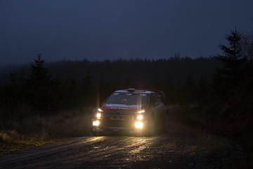 Khalid Al Qassimi FIA World Rally Championship Great Britain - Day Two