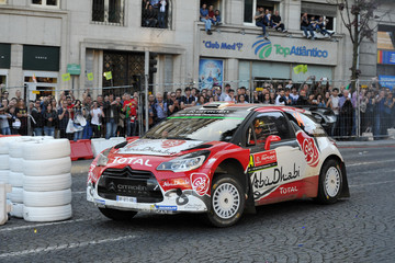 Khalid Al Qassimi FIA World Rally Championship Portugal