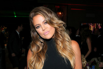 Khloe Kardashian 20th Century Fox Golden Globes Party