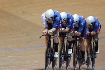 Kian Emadi TISSOT UCI Track Cycling World Cup - Day One