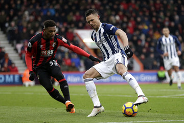 Kieran Gibbs AFC Bournemouth vs. West Bromwich Albion - Premier League