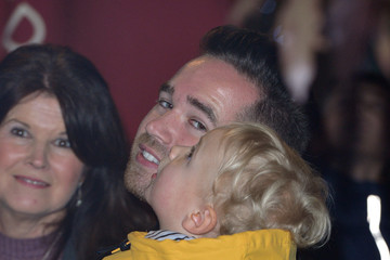 Kieran Hayler Katie Price Switches on the Woking Shopping Christmas Lights