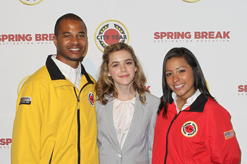 Kiernan Shipka City Year Los Angeles' Spring Break: Destination Education