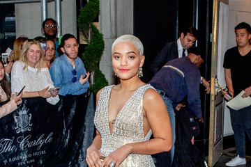 Kiersey Clemons Heavenly Bodies: Fashion & The Catholic Imagination Costume Institute Gala - Sightings