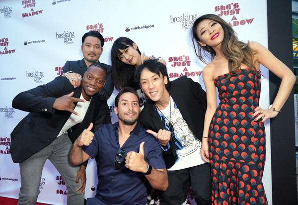 Premiere Of Breaking Glass Pictures' 'She's Just A Shadow' - Arrivals [breaking glass pictures,shes just a shadow,event,premiere,fashion,fun,leisure,performance,carpet,tourism,arrivals,actors,kihiro,david newbert,tao okamoto,arclight hollywood,premiere,premiere]