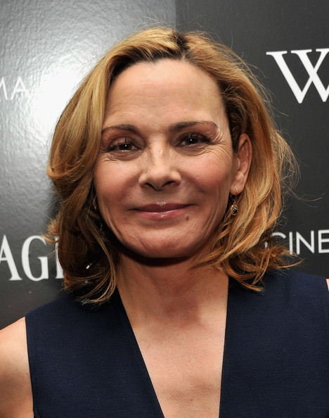 The Cinema Society  amp Piaget Kim Cattrall