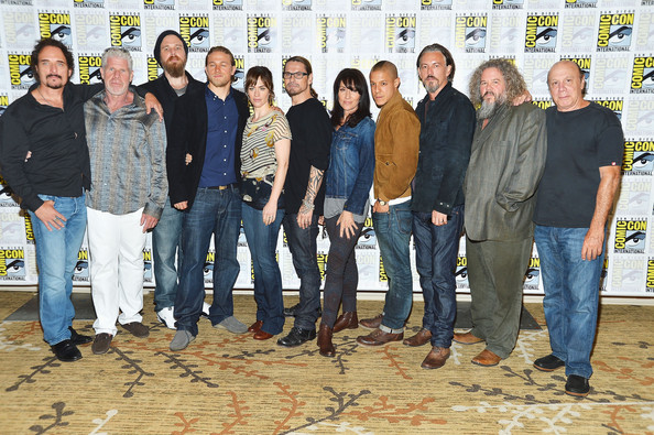 """""""Sons Of Anarchy"""" - Press Line - Comic-Con International 2012"""