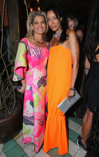 Phillips de Pury Dinner At Cecconi's Soho Beach House Miami To Celebrate Art Basel [event,fashion,fashion design,party,fawn,formal wear,angela ismailos,kim heirston,dancing,soho beach house,miami,cecconi,miami to celebrate art basel,phillips de pury,phillips de pury dinner,dinner]