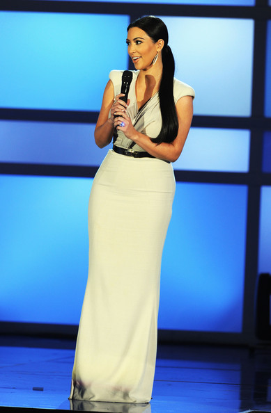 Kim Kardashian TV personality Kim Kardashian speaks onstage during the 2011 VH1 Do Something Awards at the Hollywood Palladium on August 14, 2011 in Hollywood, California.