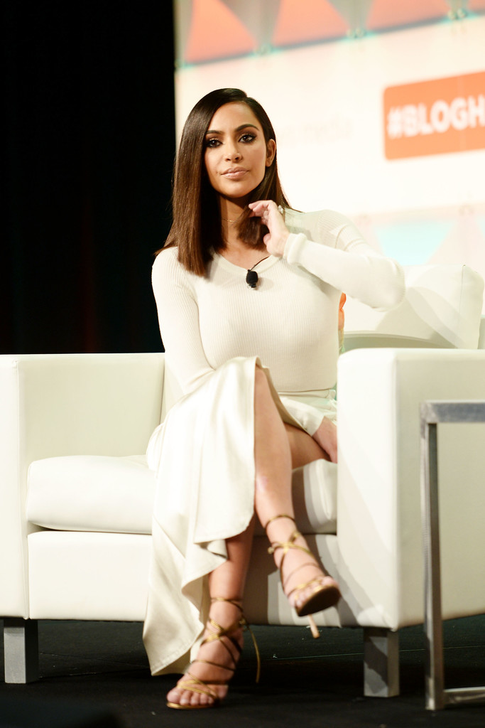 Kim Kardashian at #BlogHer16 Experts Among Us Conference in Los Angeles
