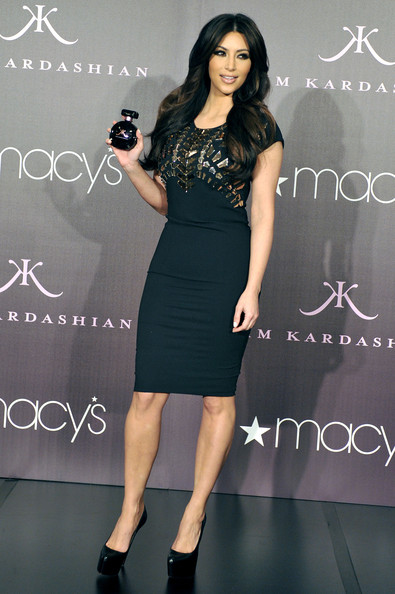 "Kim Kardashian Kim Kardashian launches her fragrance ""Kim kardashian"" at Macy's Glendale Galleria on February 22, 2011 in Glendale, California."