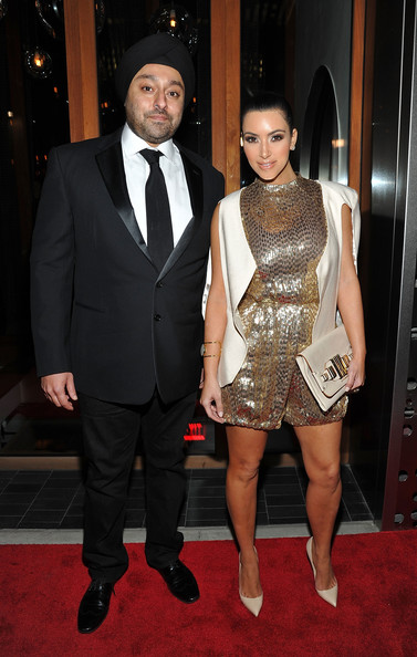 Kim Kardashian Hotelier Vikram Chatwal (L) and television personality Kim Kardashian attend Vikram Chatwal's 40th Birthday celebration at Romera at the Dream Downtown on October 28, 2011 in New York City.