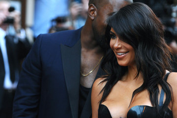 Kim Kardashian Arrivals at the GQ Men of the Year Awards