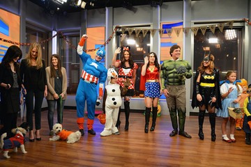 Kimberly Guilfoyle 'Fox & Friends' Halloween Celebration