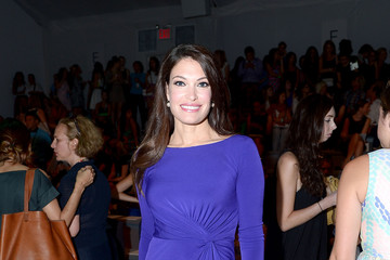 Kimberly Guilfoyle MBFW: Front Row at Milly by Michelle Smith