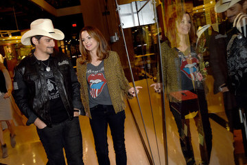 Kimberly Williams-Paisley The Country Music Hall of Fame and Museum Debuts 'Brad Paisley: Diary of a Player' Exhibit