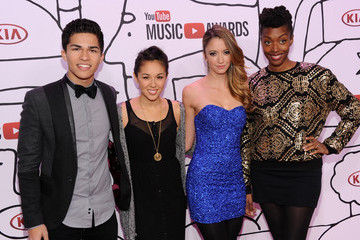 Kina Grannis Arrivals at the YouTube Music Awards