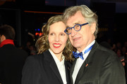 """Donata Wenders (L)and WIm  Wenders attend the """"The Kindness Of Strangers"""" premiere during the 69th Berlinale International Film Festival Berlin at Berlinale Palace on February 07, 2019 in Berlin, Germany."""