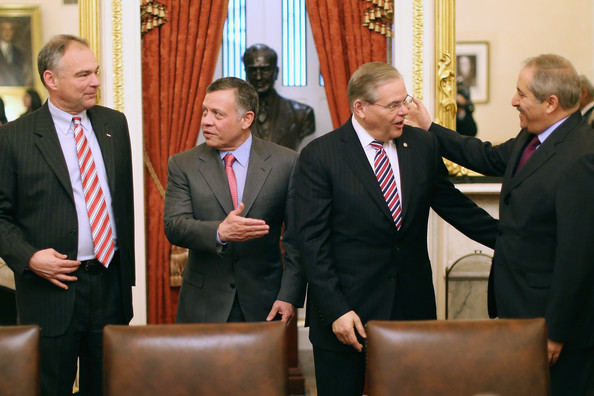 King Abdullah II Meets with Members of Congress