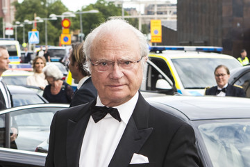 King Carl Gustaf XVI  Swedish Royals Attend Polar Music Prize