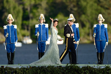 King Carl Gustaf XVI  The Wedding Of Princess Madeleine & Christopher O'Neill - Evening Banquet