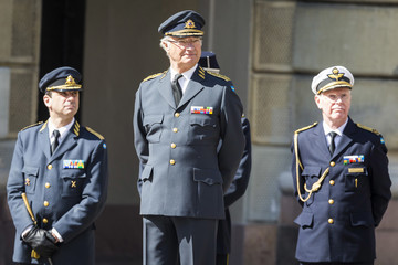 King Carl Gustaf XVI  King Carl Gustav of Sweden's Birthday Celebrations