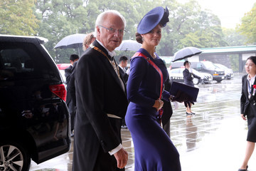 King Carl Gustaf XVI  Enthronement Ceremony Of Emperor Naruhito In Japan
