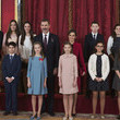 King Felie VI ofSpain King Felipe of Spain Delivers Collar of The Distinguished 'Toison de Oro' to Princess Leonor
