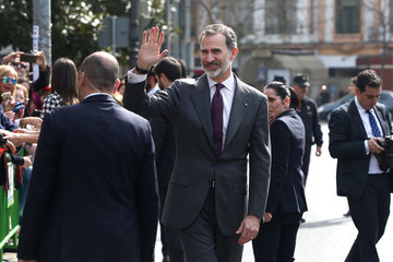 King Felipe VI Spanish Royals Delivers Golden Medals Of Merit In Fine Arts