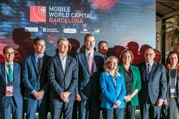 King Felipe VI Day 1 - GSMA Mobile World Congress 2019
