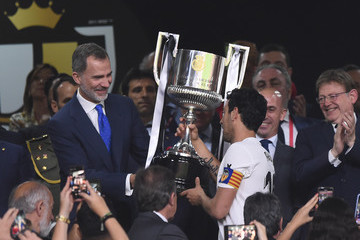 King Felipe VI Barcelona vs. Valencia - Spanish Copa del Rey Final