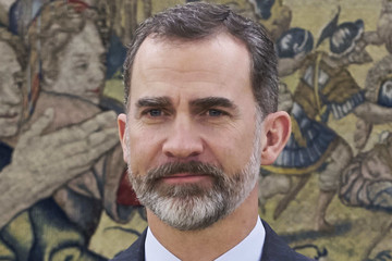 King Felipe VI of Spain Spanish Royals Meets the Board of Directors of the Islamic Comission of Spain