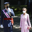 King Felipe VI of Spain Spanish Royals Attend Armed Forces Day