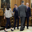 King Felipe VI of Spain Spanish Royals Attend Audiences At Zarzuela Palace