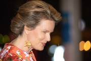 King Philip of Belgium and Queen Mathilde attend the King Baudouin Support Council gala fundraiser evening in the city theater on October 2, 2018 in Antwerpen, Belgium.