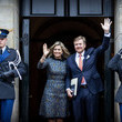 King Willem-Alexander Dutch Royal Family Attends New Year Reception At Royal Palace In Amsterdam