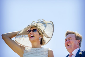 King Willem-Alexander King Willem-Alexander Of The Netherlands and Queen Maxima Of The Netherlands Visit The province Of Friesland