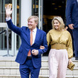 King Willem-Alexander King Willem-Alexander Of The Netherlands And Queen Maxima attend Award The Oranje Fonds Ceremony In Hilversum