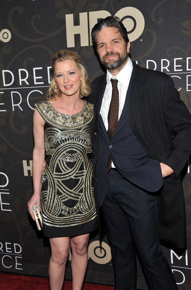 Gretchen Mol with Husband Tod Williams