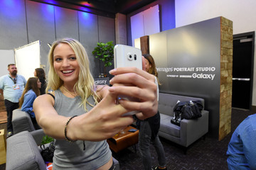 Kirby Bliss Blanton Behind The Scenes of the Getty Images Portrait Studio Powered By Samsung Galaxy At Comic-Con International 2015