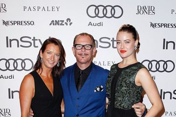 Kirk Pengilly Layne Beachley Instyle and Audi 'Women of Style' Awards
