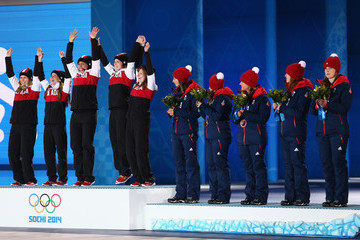 Kirsten Wall Medal Ceremony - Winter Olympics Day 15