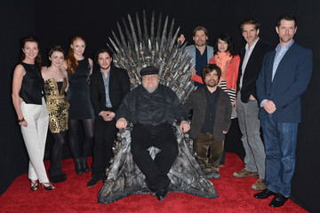Kit Harington Maisie Williams An Evening With 'Games Of Thrones'