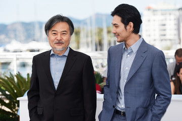 Kiyoshi Kurosawa 'Before We Vanish (Sanpo Soru Shinryakusha)' Photocall - The 70th Annual Cannes Film Festival