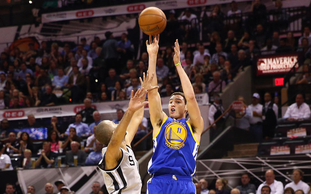 Klay Thompson And The Warriors Hold Off Spurs To Tie Series 1-1