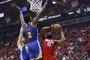 Klay Thompson Golden State Warriors v Houston Rockets - Game Six
