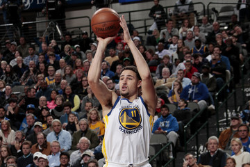 Klay Thompson Golden State Warriors v Dallas Mavericks