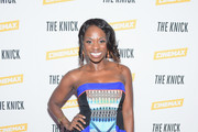 TV personality Delaina Dixon attends the Cinemax screening, panel and reception for 'The Knick'  on July 23, 2014 in New York City.